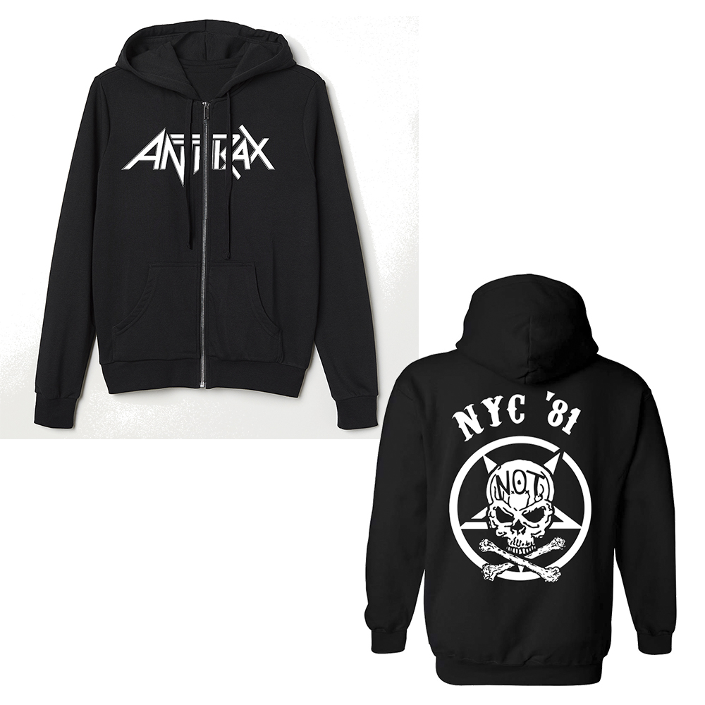 Anthrax - Not Man (Zip Hoodie)