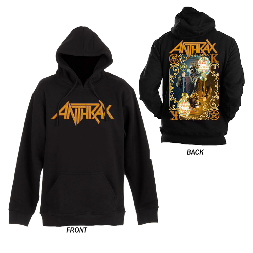 Anthrax -  Anthrax Evil Twin (Pullover Hoodie)