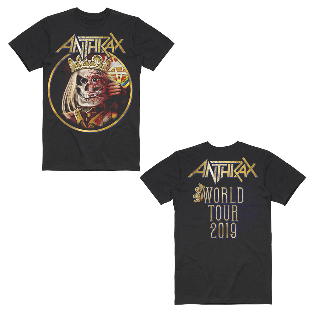 Anthrax - Notman Mask 2019 Date Back