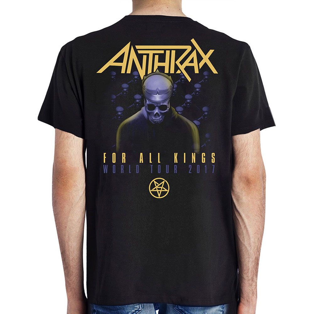 Anthrax - Among the Kings (with Back Print)