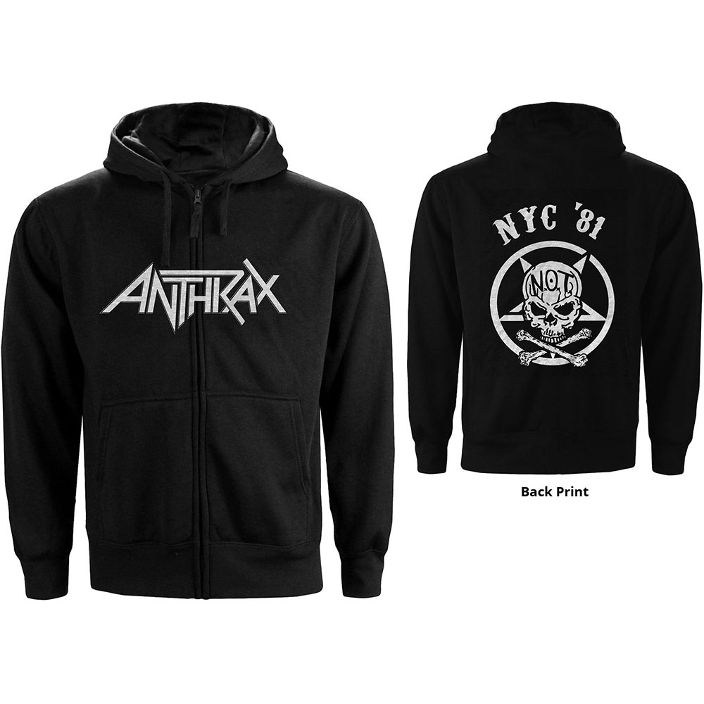 Anthrax - Not Man NYC (Back Print)