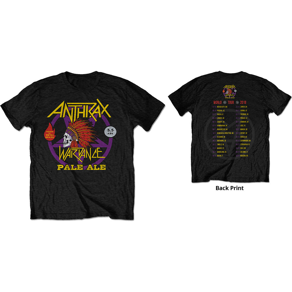 Anthrax - War Dance Paul Ale World Tour 2018