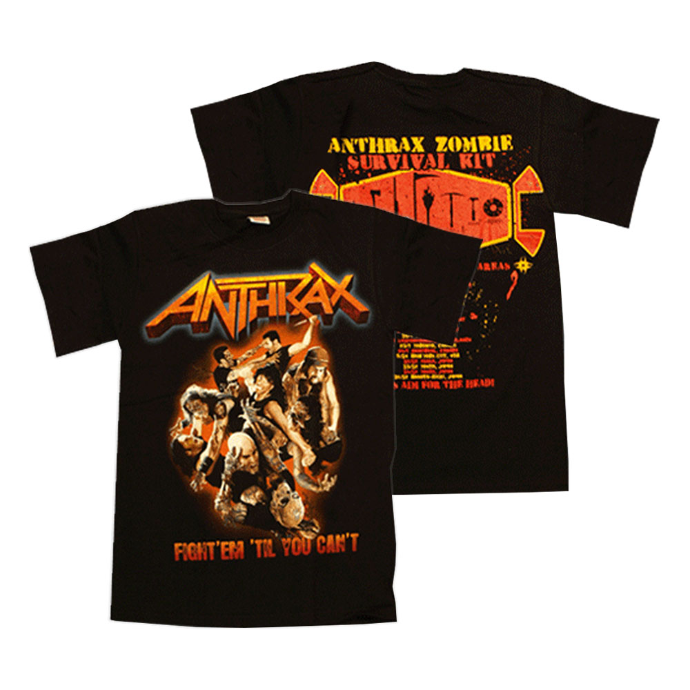 Anthrax - Fight 'Em 'Till You Can't