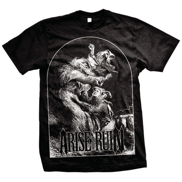 Arise And Ruin - Old School (Black)