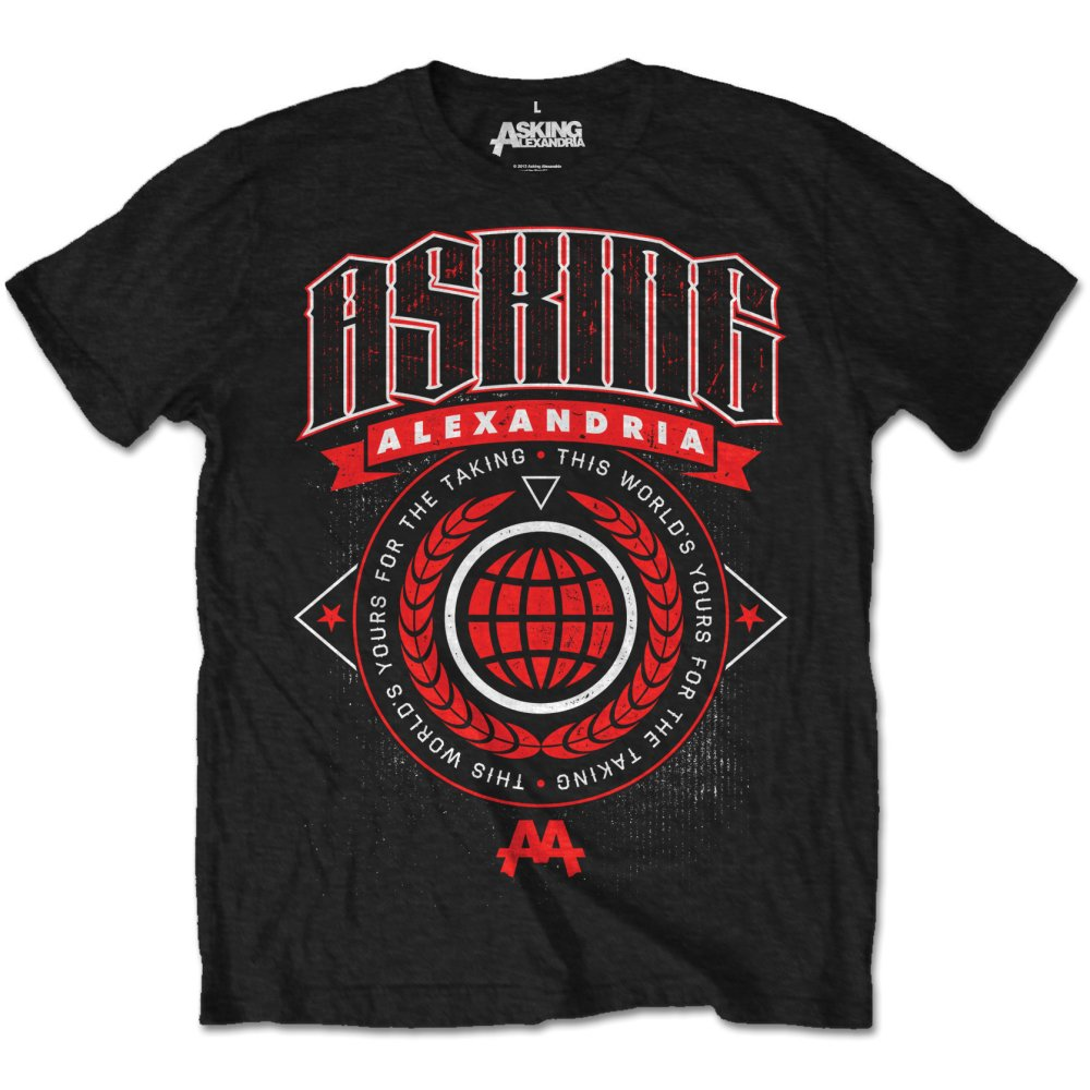 Asking Alexandria - This World Tee
