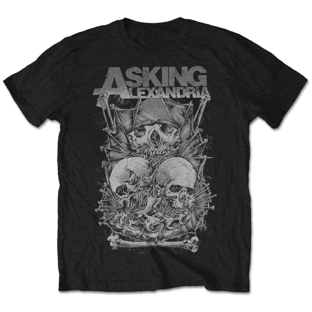 Asking Alexandria - Skull Stack Tee