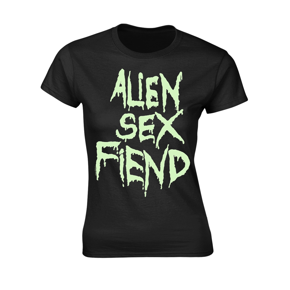 Alien Sex Fiend - Logo (Glow) (Ladies)