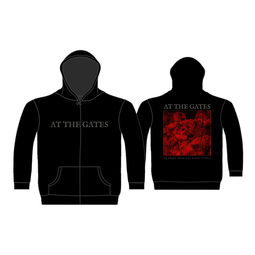 At The Gates - To Drink From The Night Itself (Zip Hoodie)