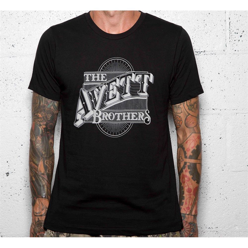 Avett Brothers - Johnson Logo (Black)