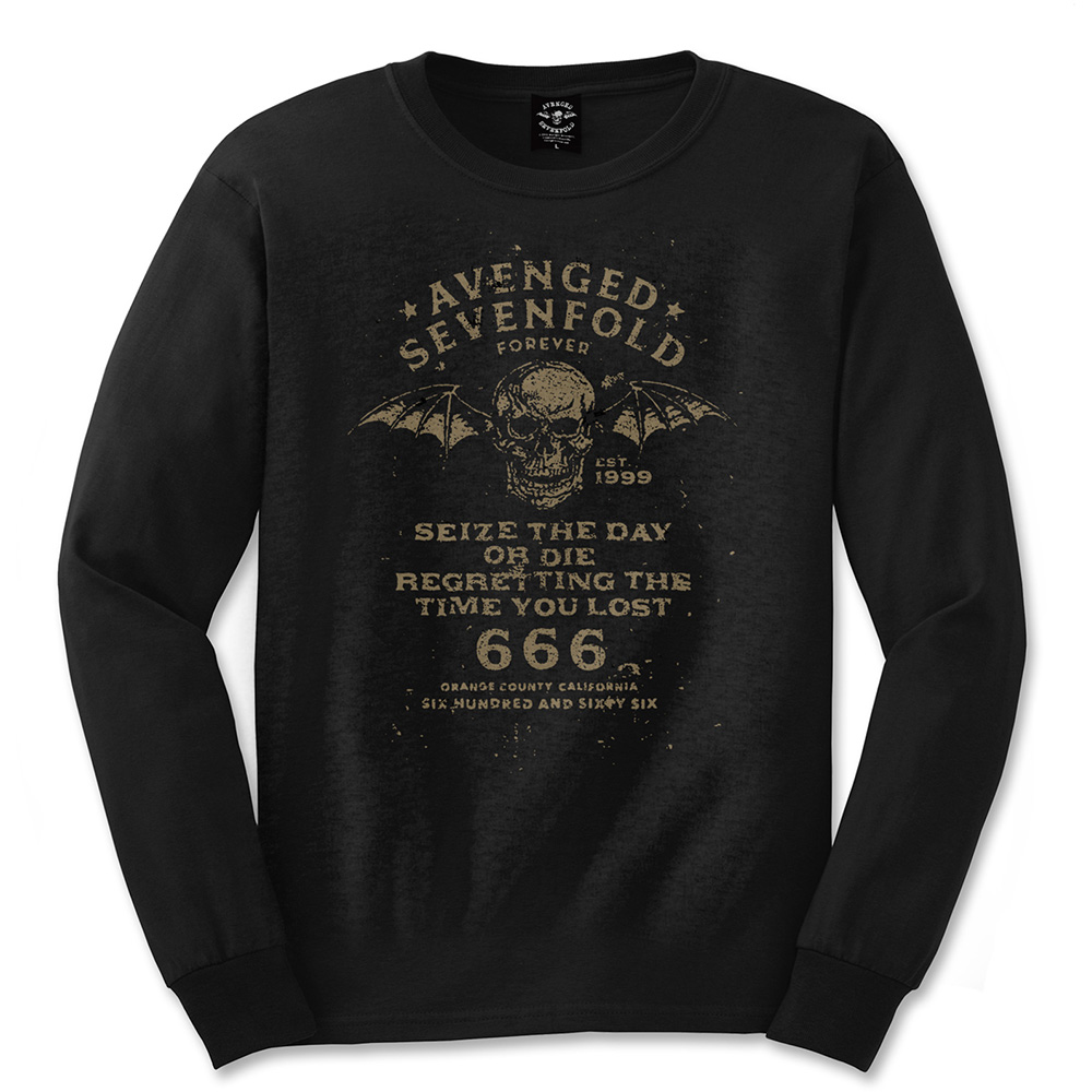 Avenged Sevenfold - Seize The Day (Black)