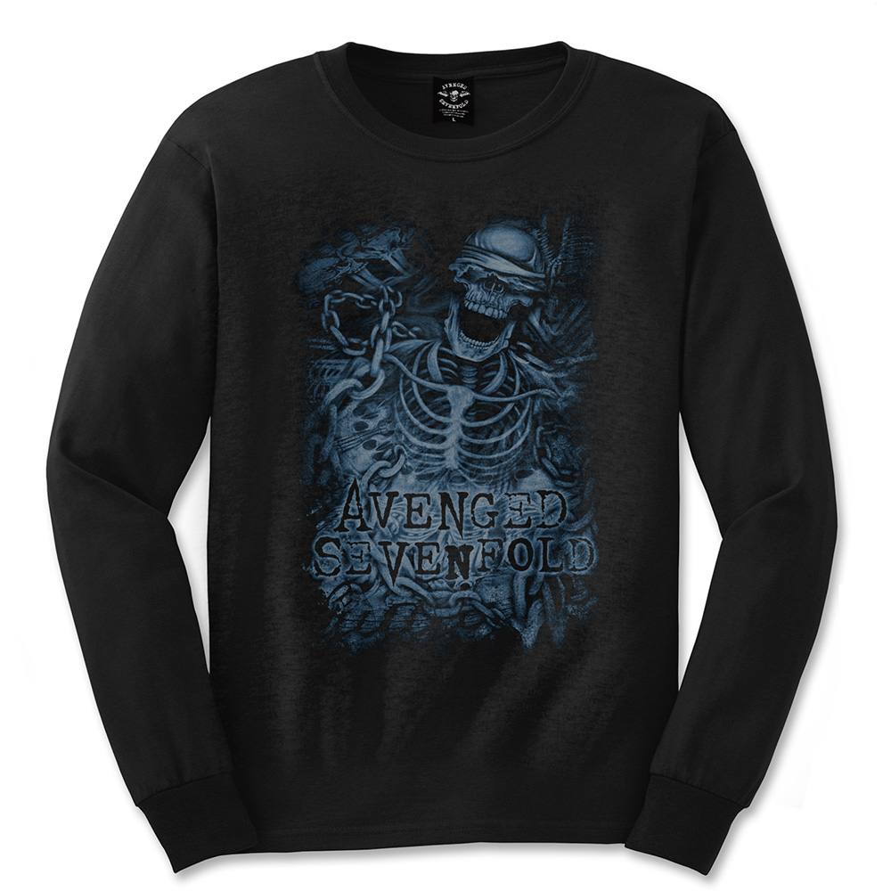 Avenged Sevenfold - Chained Skeleton (Black)