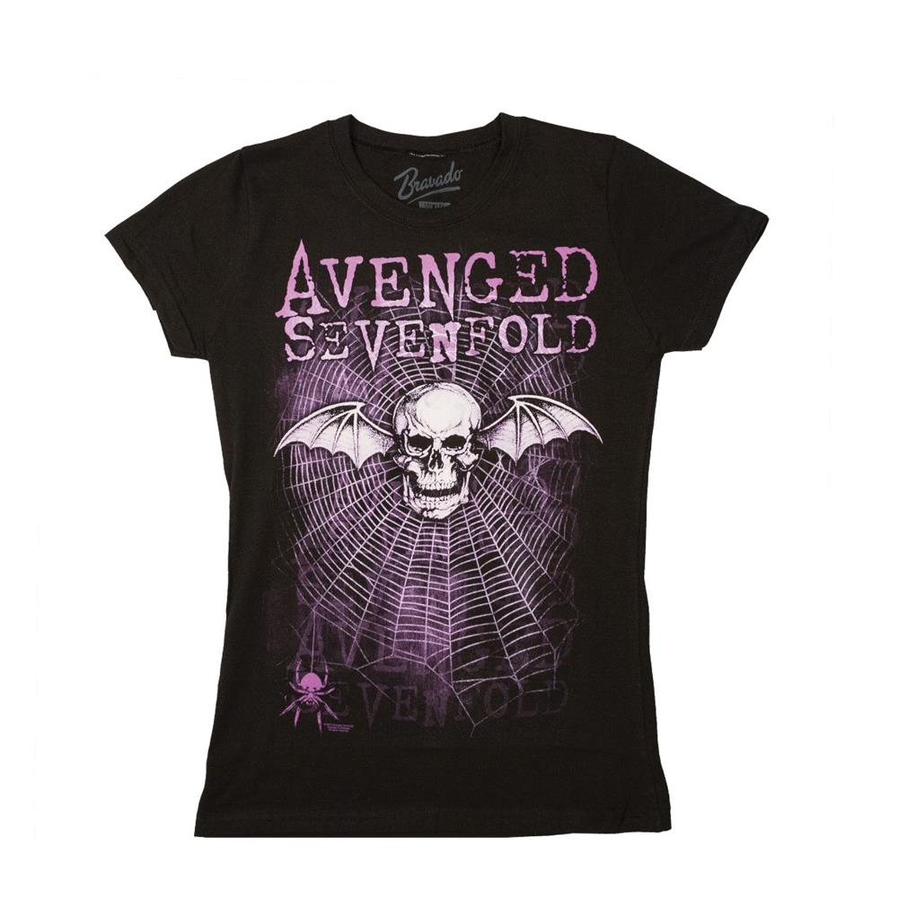 Avenged Sevenfold - Weaved Tissue (Women's) (Black)