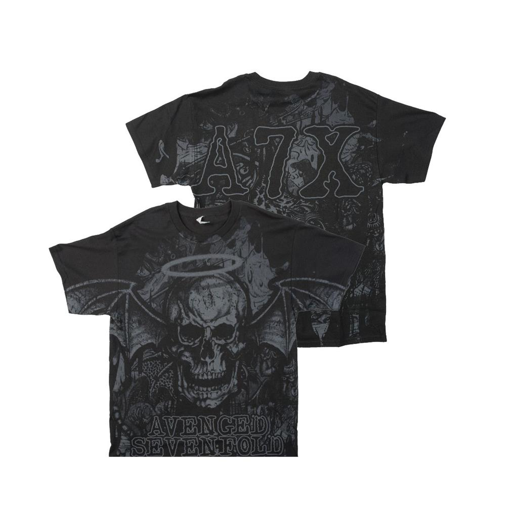 Avenged Sevenfold - Dear God Allover (Black)