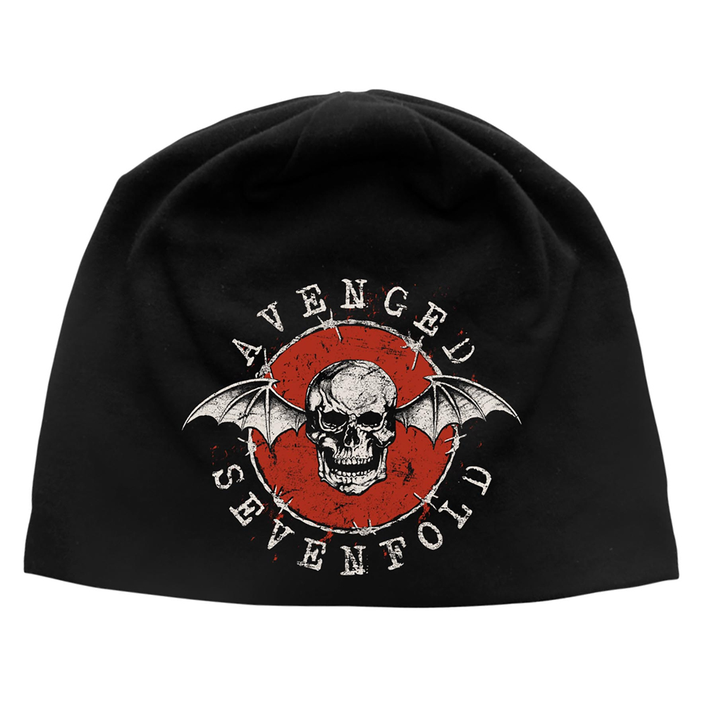 Avenged Sevenfold - Distressed Bat (Discharge Beanie Hat)