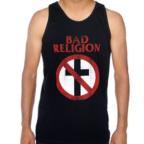 Bad Religion - Distressed Crossbuster (Tank)