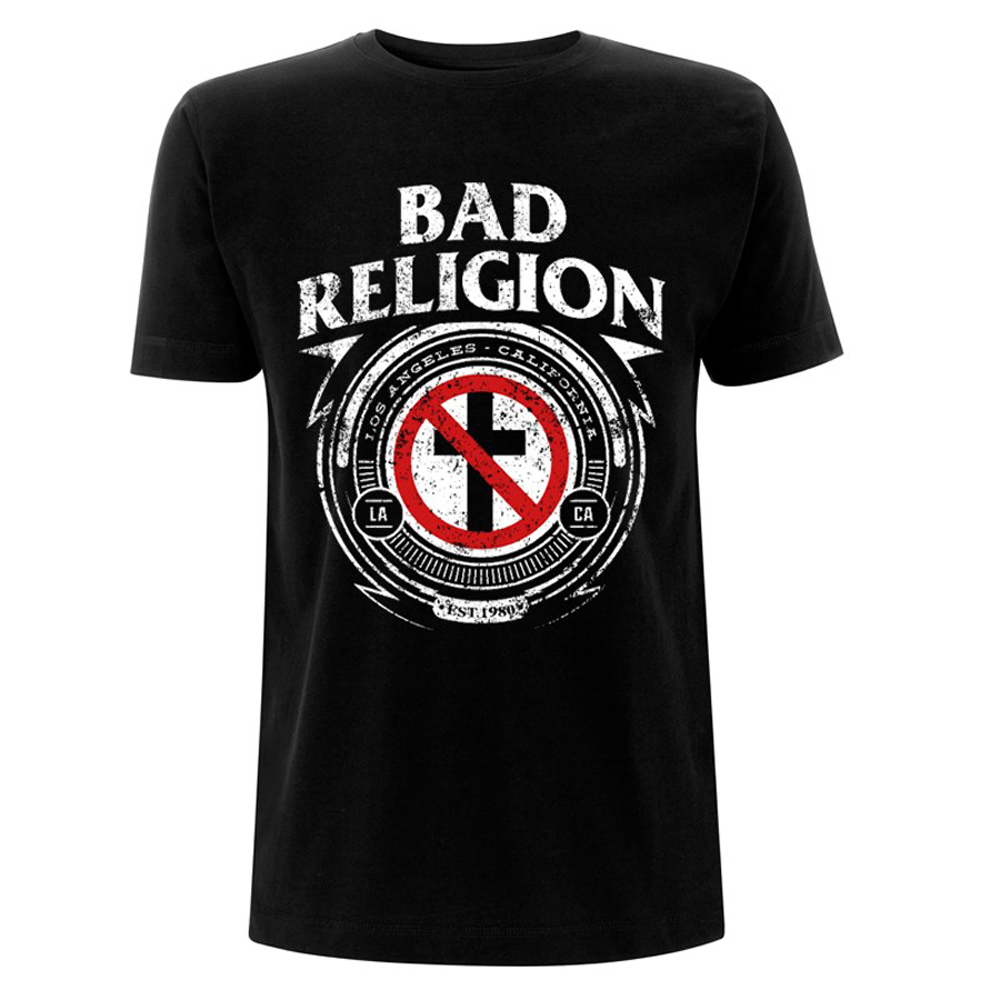 Bad Religion - Badge (Black)