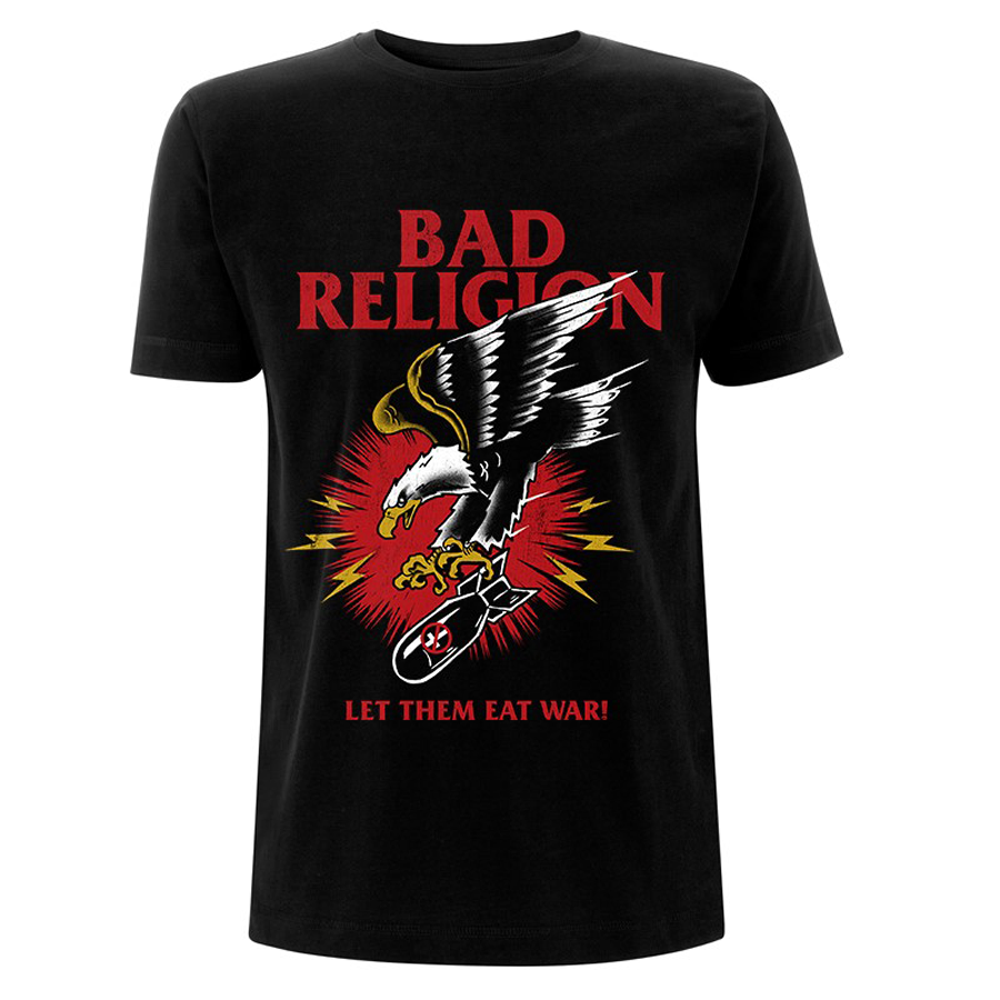 Bad Religion - Bomber Eagle )Black)