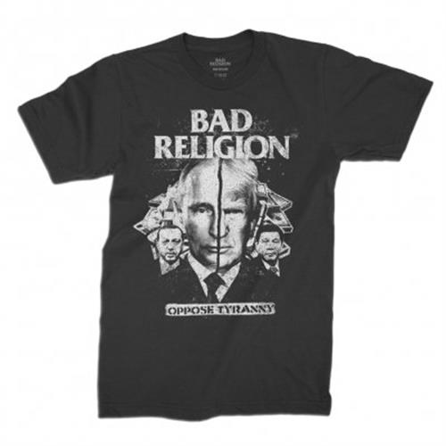 Bad Religion - Oppose Tyranny (Black)