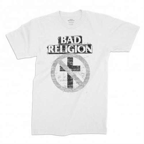 Bad Religion - Typewriter Crossbuster (White)