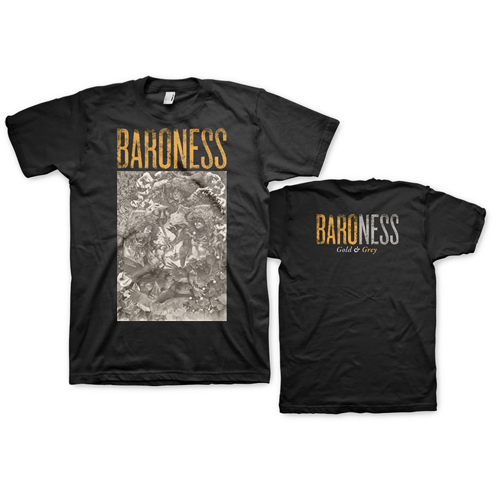 Baroness -  Gold & Grey (Back Print)