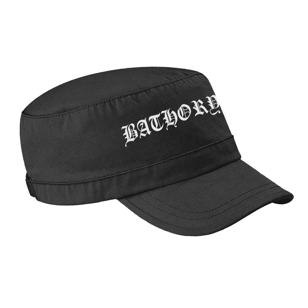 Bathory - Logo (Army Cap)
