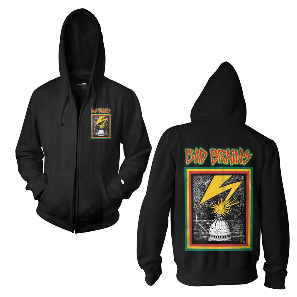 Bad Brains - Bad Brains (Zip Hoodie)