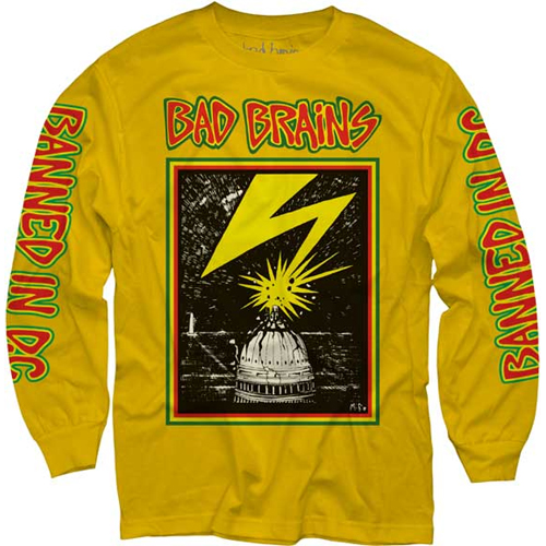 Bad Brains - Capitol On Yellow (Longsleeve)