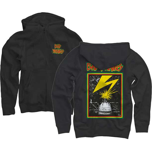 Bad Brains - Front Logo (Zip Hoodie)