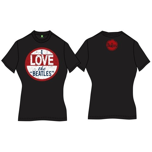 Beatles - I Love The Beatles (Back Print) Black