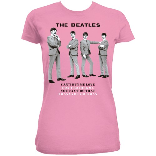 Beatles - You can't do that Fushia Pink