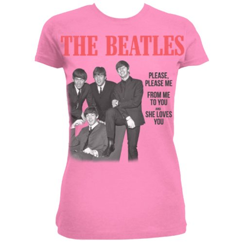 Beatles - Please, Please Me Pink