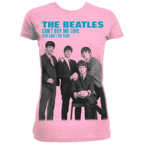 Beatles - You can't buy me love Pink