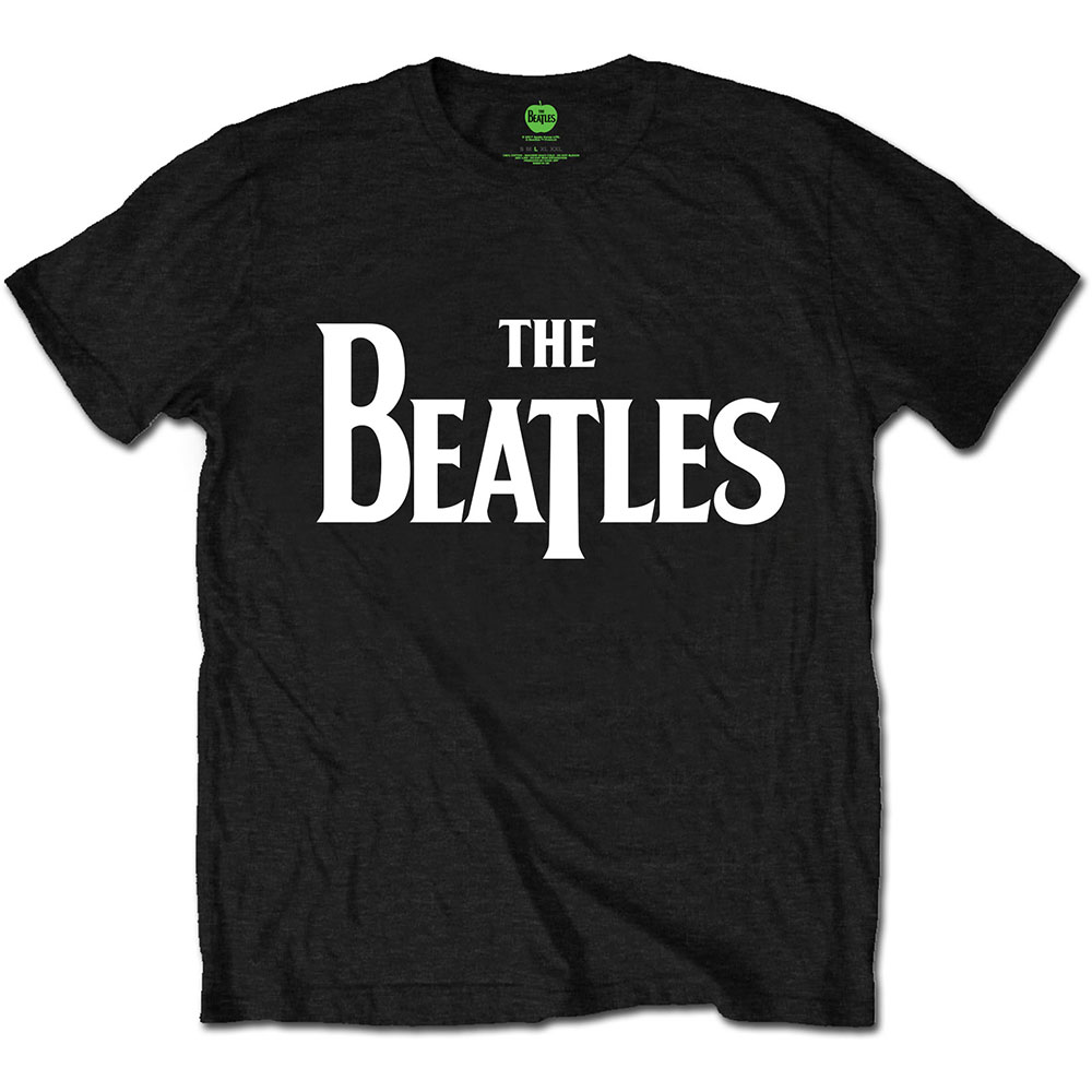 Beatles - Drop T Logo Black
