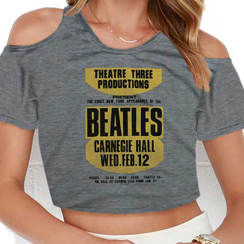 Beatles - Carnegie Hall with Cropped Styling and Cut-outs