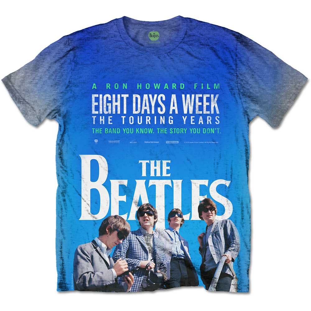 Beatles - 8 Days a Week Movie Poster (Sublimated)
