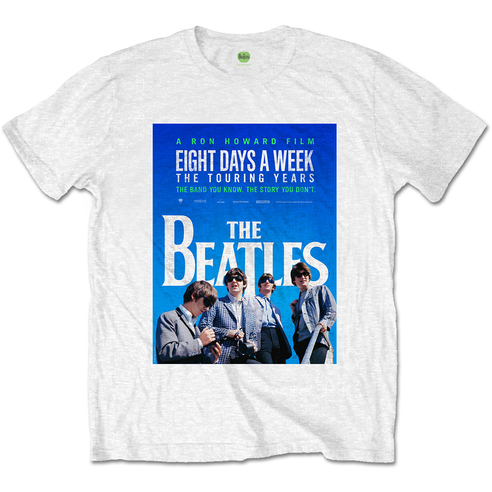 Beatles - 8 Days a Week Movie Poster White