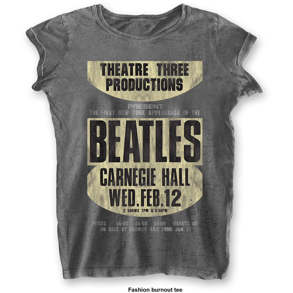 Beatles - Carnegie Hall (Burn Out) Grey