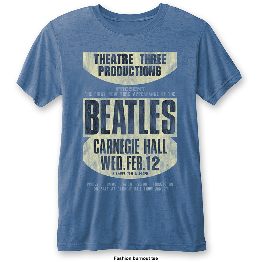 Beatles - Carnegie Hall (Burn Out) Blue