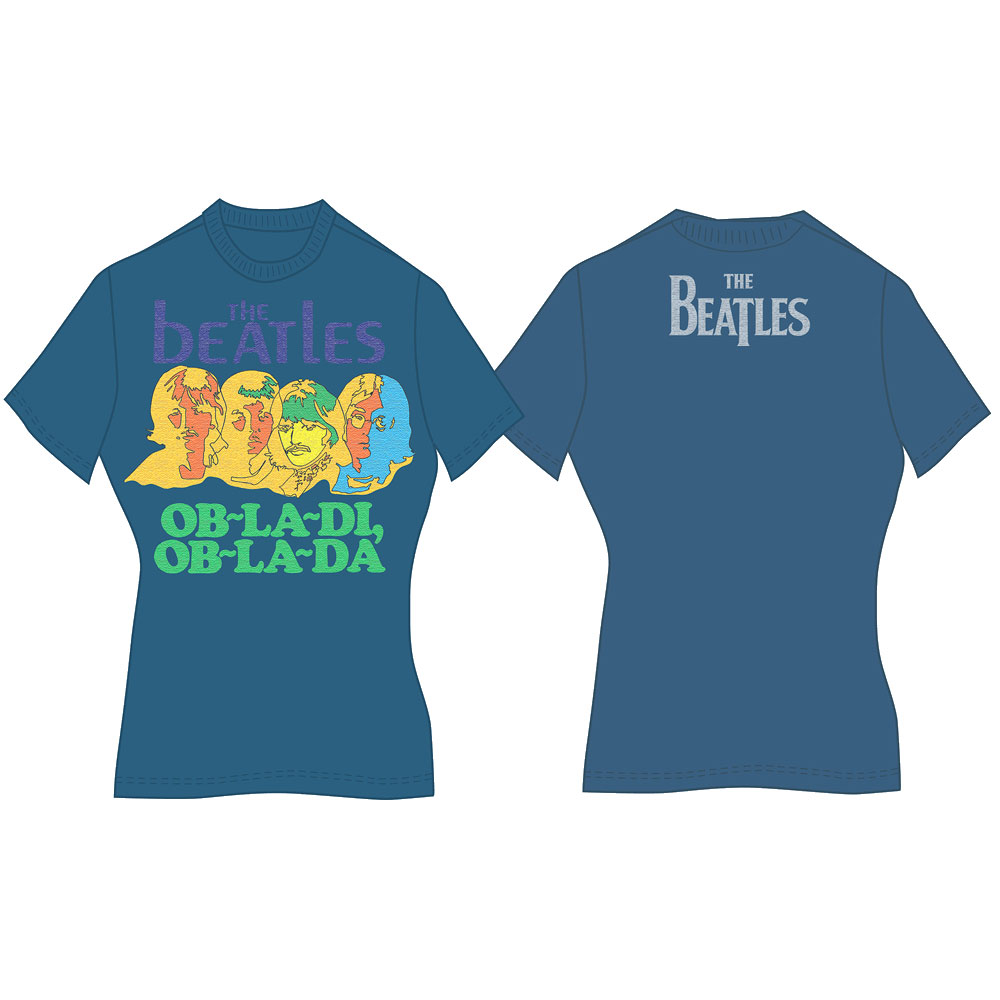 Beatles - Ob-La-Di (Back Print)