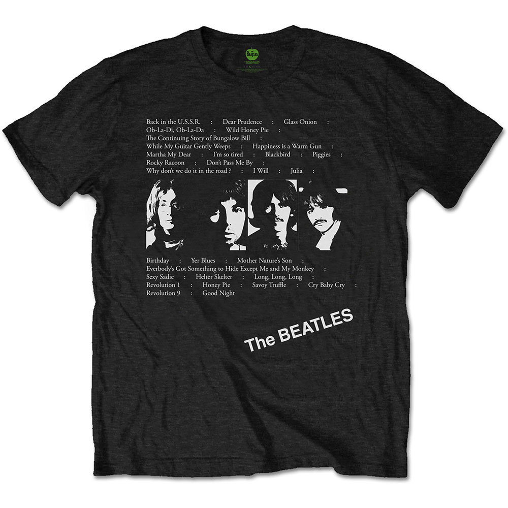 Beatles - White Album Tracks (Back Print)