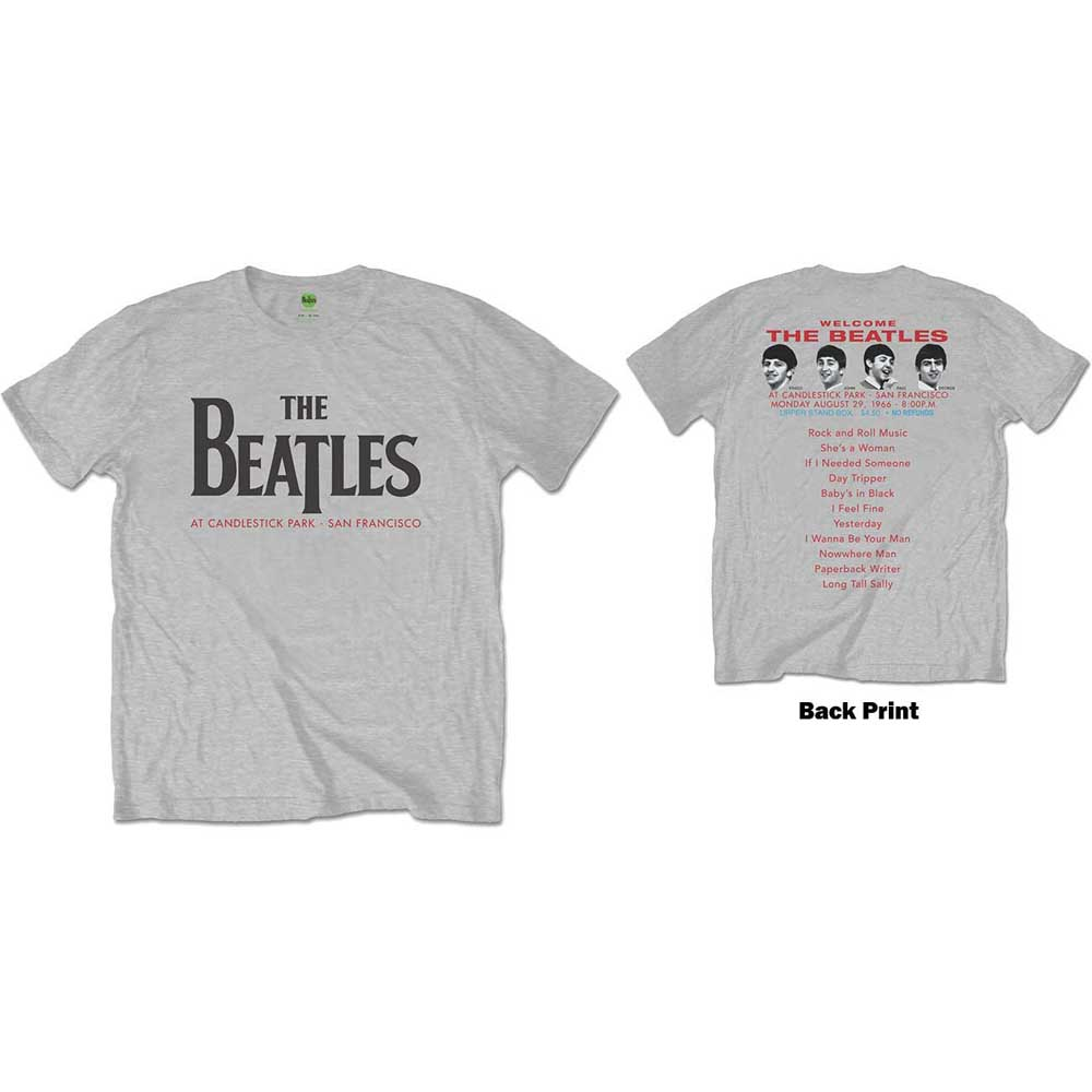 Beatles - Candlestick Park (Back Print)