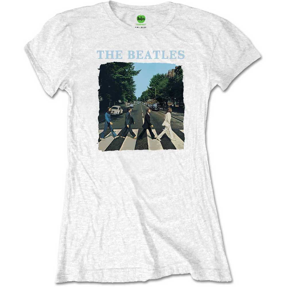 Beatles - Abbey Road & Logo White