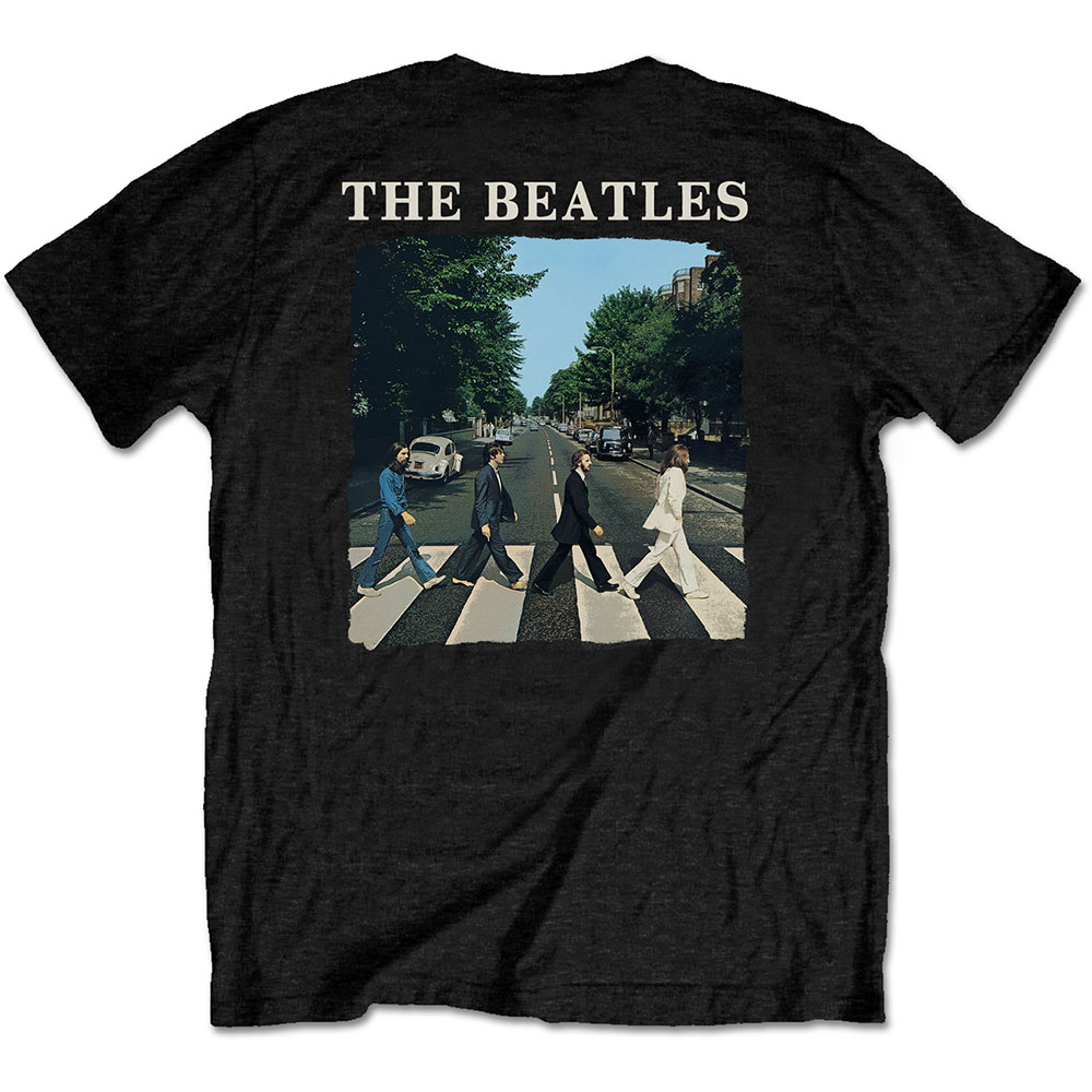 Beatles - Abbey Road & Logo (Back Print)