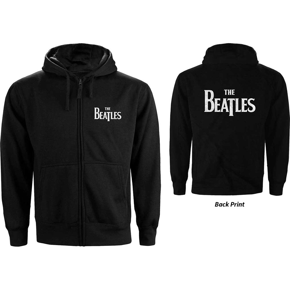 Beatles - Drop T Logo (Back Print) Womens
