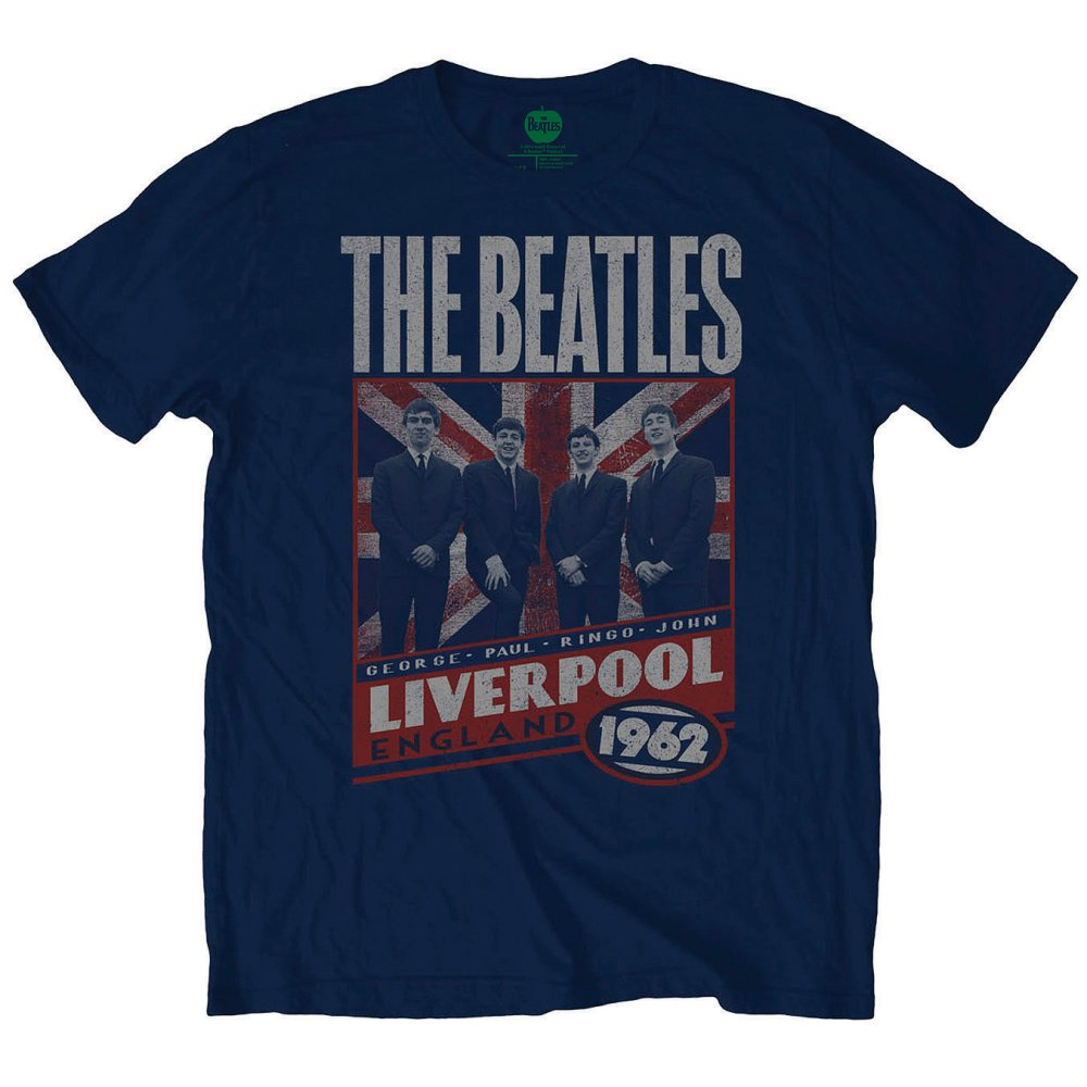 Beatles - Liverpool England '62 (Navy)