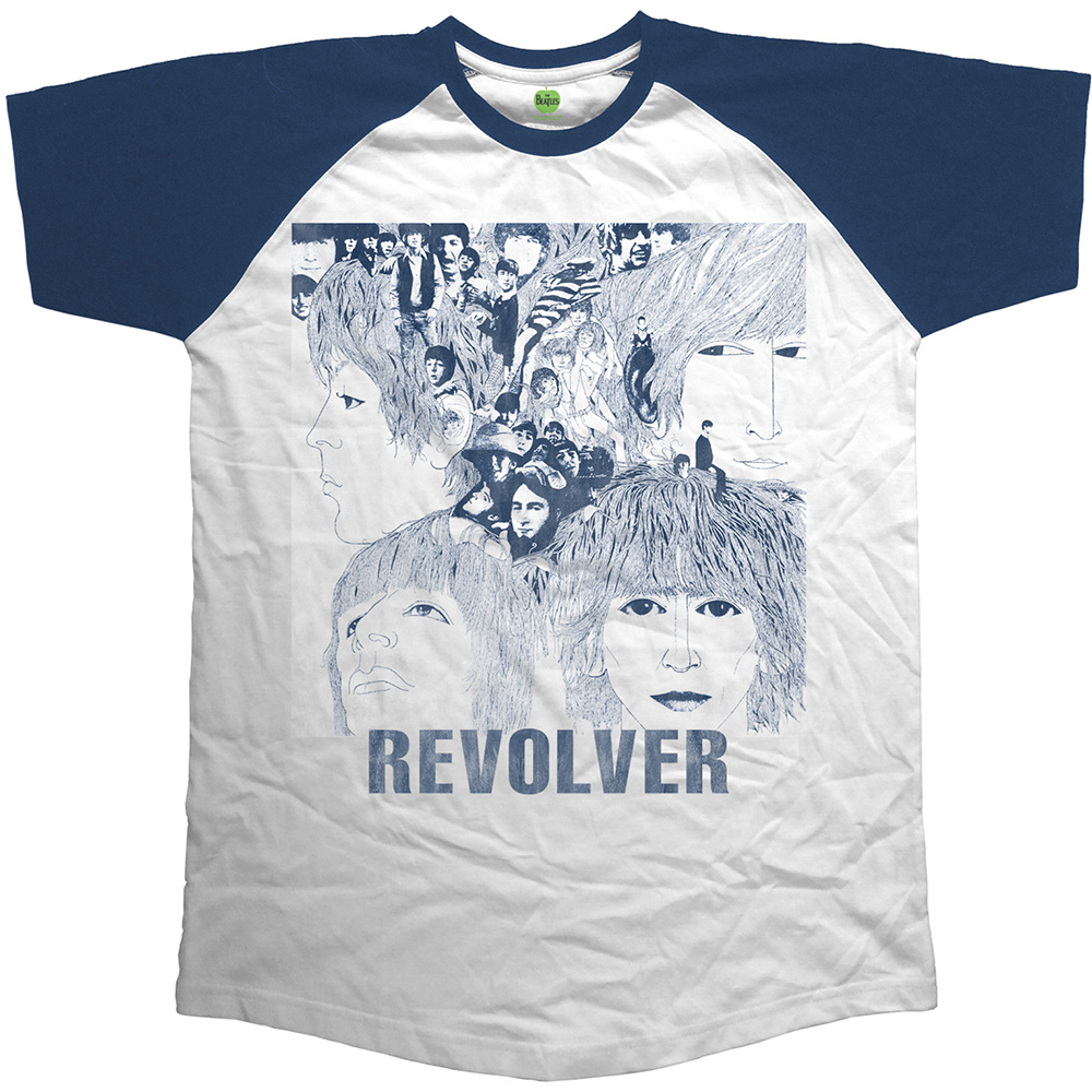 Beatles - Revolver (Raglan) (White)