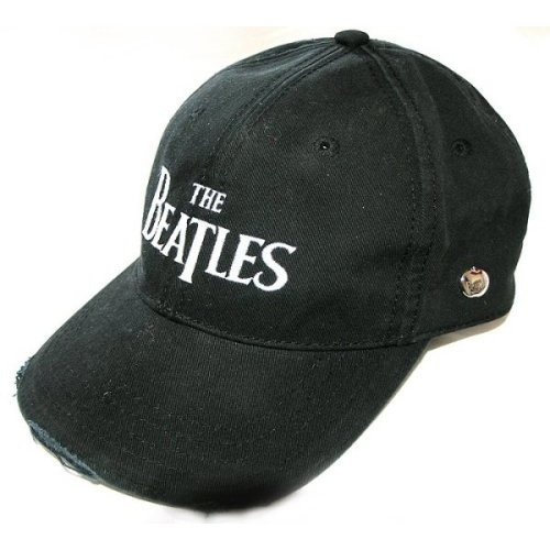 Beatles - Drop T Logo (Embroidered Black)