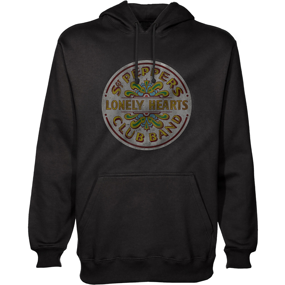 Beatles - Sgt Pepper (Black Hoodie)