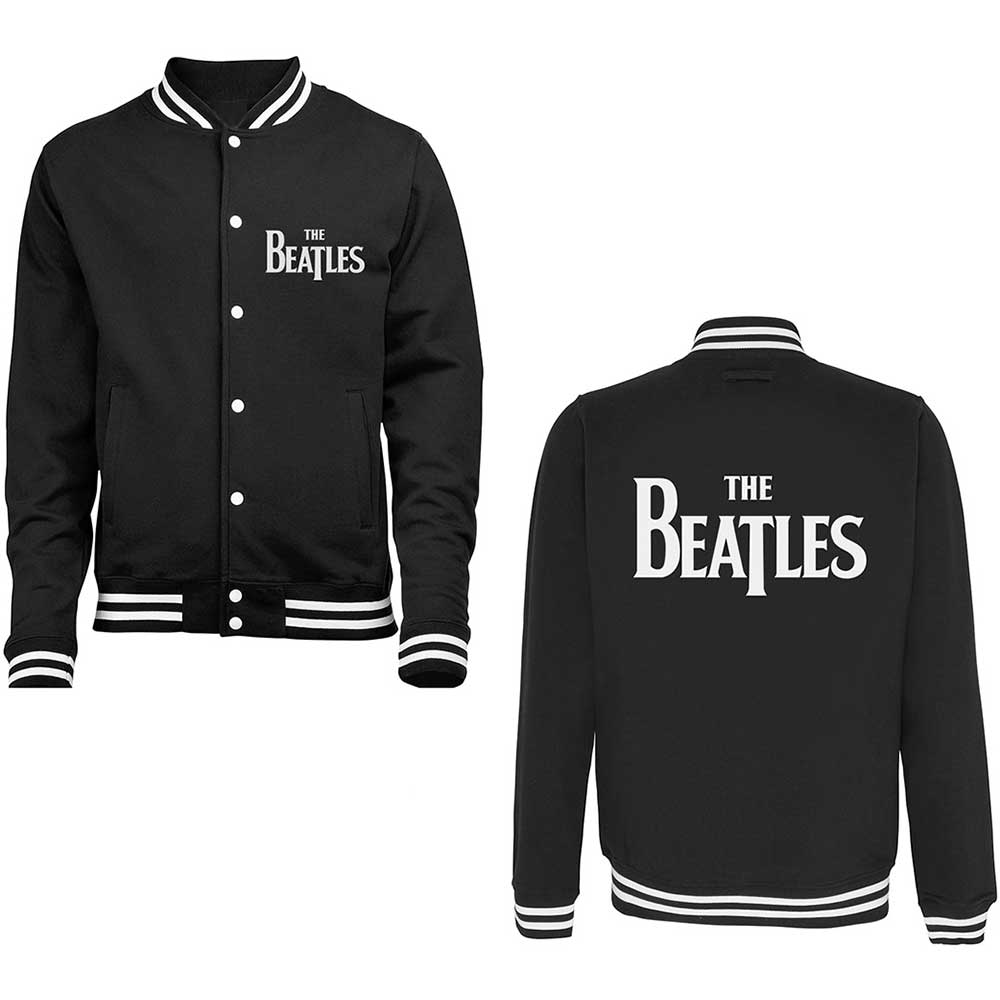 Beatles - Drop T Logo (Black)