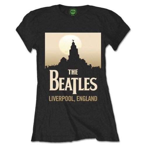 Beatles - Liverpool England (Black) (Women's)